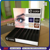 TSD-W013 counter top retail cosmetic wooden tray/wooden display tray for cosmetic/cosmetic display tray