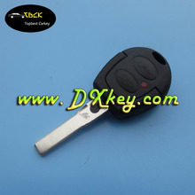 High quality 2 button car key remote for VW Golf remote key VW key 433mhz with ID48 chip