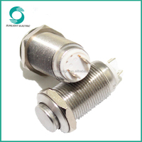 12mm 12v momentary non-illuminated 1no best price small waterproof push button switch