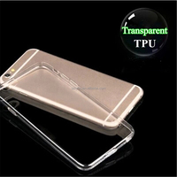Transparent TPU Fashion Cheap Smartphone Cover for Phone 6