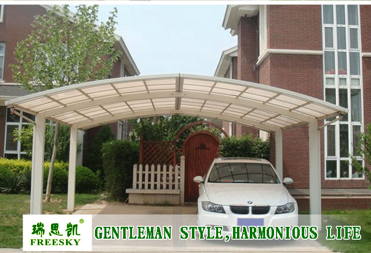 3m aluminum carport canopy carport tent sun. Black Bedroom Furniture Sets. Home Design Ideas