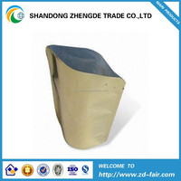 Food Industrial Use aluminum foil stand with ziplocked vacuum packing bags