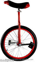 """Bicycle 24"""" one wheel bike Color alloy rim Height Adjustable Red color CE/ASTM F963-11 Approved"""