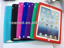 New Soft Silicon cover Case for Apple iPad 2/3 case