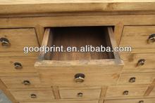 natural solid wood antique furniture file cabinet