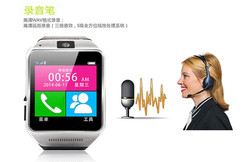 MTK6260A 1.3M Bluetooth gv08 android smart watch phone