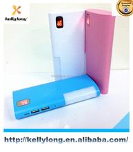 Super LED power bank 10000mah/emergency backup/external mobile power