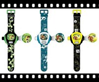 BEN 10 Style Cartoon Projection Kids Watch
