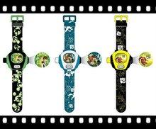 BEN 10 Style Cartoon Projection Kids Watch