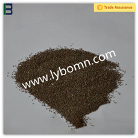 High quality brown fused alumina for refractory abrasive material/high hardness top grade factory price brown aluminum oxide