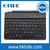 Aluminum Cover Bluetooth Wireless Keyboard With Magnetic Clips For Ipad Mini