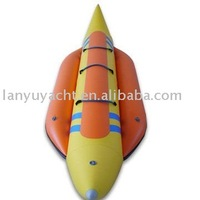 banana rubber inflatable sports pvc boat