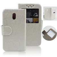 Wholesale Singstar Leather Flip Case for HTC Desire 210