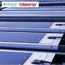 Hanergy 70w Miasole rollable flexible thin film cigs solar panels for mobile homes