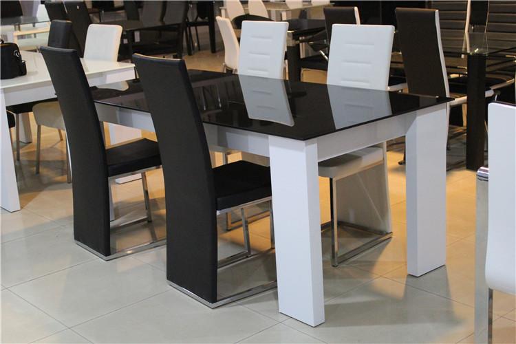 High End Modern Dining Table With Glass Top White High  : HTB1o4i8JFXXXXXXXFXXq6xXFXXXG from alibaba.com size 750 x 500 jpeg 122kB