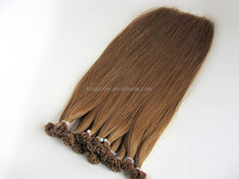 keratin fusion flat tip bonds 100% remy human hair extension