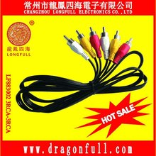 audio video cable for DVD player, STB, VCR, SPEAKER SYSTEM