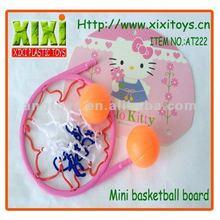 4Pcs Kids Cartoon Plastic Toy Mini Basketball Board With Ring