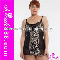 New style leopard gallus babydoll lingerie pic