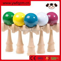 free shipping fashion design solid color kendama balls