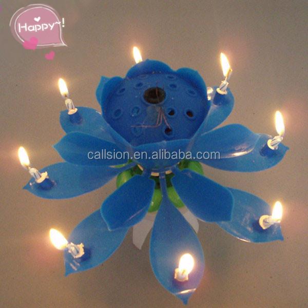 Hot selling flower shape singing happy birthday music candle.jpg