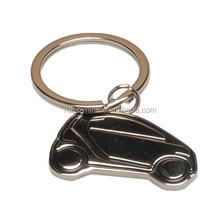 Promotion cheap zinc alloy car shaped key ring/ keychain/car metal key chain with custom logo