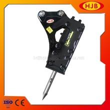 vendita calda hjb140 laterale di tipo terne martello idraulico per diversi escavatori