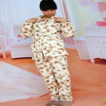 super soft fleece bathrobe/ pajamas