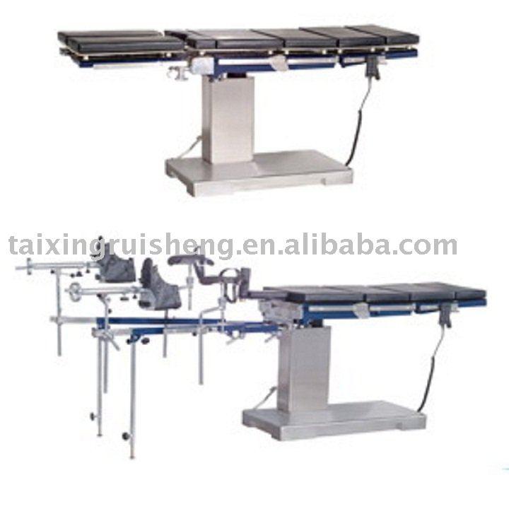 Quirúrgico mesa de operaciones eléctrica con ortopédica de tracción Fram ( 8801--III )