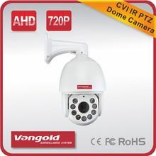 High Speed CVI PTZ Camera 720P High Resolution 360degrees Auto/Manual Focus