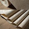 Detai classic damask PVC wall paper, PVC rubber wallpaper