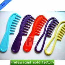 custom comb for different hair quality or purchase Injection mold for plastic comb