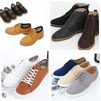 2014 mans casual comfortable shoes upto US12 100% made in korea