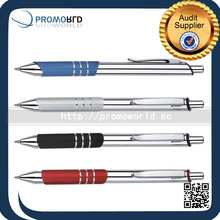 Made In China Aluminum Metal Pen Classic Popular Triangular Metal Retractable Ball Pen