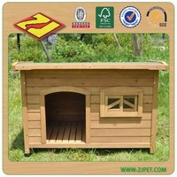 Dog Kennel with Flat Roof