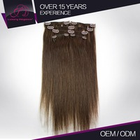 High End 100% Remy Human Clip In Straight Request Hair Products
