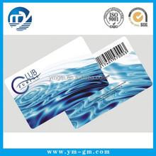 Eco-Friendly Custom Made plastic card barcode