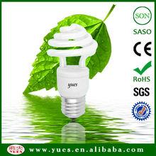 18W CFL Umbrella/Mushroom Shaped Energy Saving Lamp Bulbs