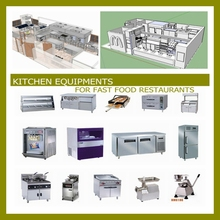 WHOLE SET OF KITCHEN EQUIPMENTS FOR RESTAURANT.