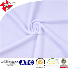 DTY weft knitting 100 polyester high quality moisture wicking finished interlock smooth knit fabric for multisport team wear