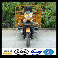 SBDM Water Cooling Open Body Trike Passenger Tricycle Taxi for Sale