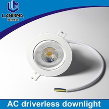 Hot Seller COB 10w LED Down lamp Fixture Ceiling Down Lights Warm/Cool/Natural White Decorative Recessed led down lamp