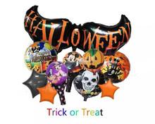 2015 nuevo diseño de Halloween papel foil globos decoración de Halloween