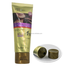Packaging tube for hair color