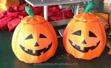 Handmade nice outdoor inflatable halloween four smile pumpkins decorations