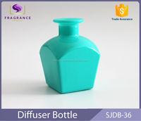 High quality green 50ml glass perfume diffuser bottle