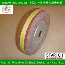 flap wheel for bicycle aluminum part