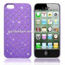 Diamond cover skin bling case for iphone5