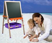 Chilrean Hot sale Pine material white Board ,sketchpad