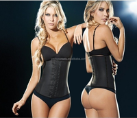 Sport Latex Steel Boned Corset Waist Training Belt Body Shaper for Women Plus Size XS-6XL